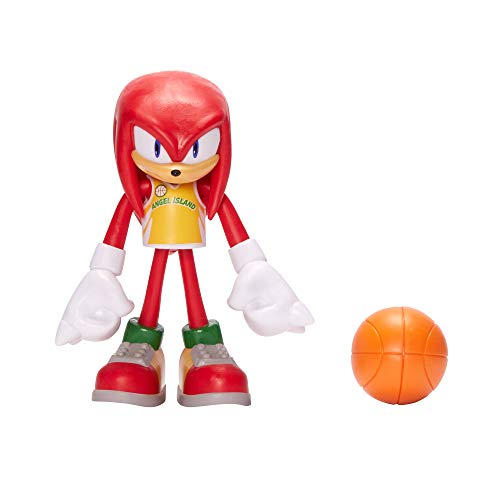 Sonic The Hedgehog 4' Basketball Knuckles Action Figure
