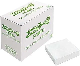エコガーゼ 4つ折り 300枚入 / 8-4890-01
