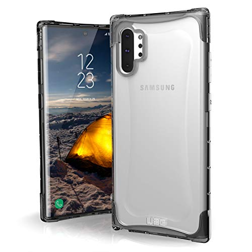 Urban Armor Gear Plyo Hülle für Samsung Galaxy Note20 Ultra (5G) (6,9'' Zoll) [Offiziell Designed for Samsung, Wireless Charging kompatibel, Air-Soft Ecken, Ultra Slim Bumper] Ice (transparent)