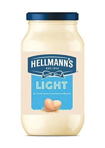 HELLMANNS - Mayonnaise Light - Verleihen Sie Ihren Salaten einen einzigartigen Geschmack - Flasche 430 ml