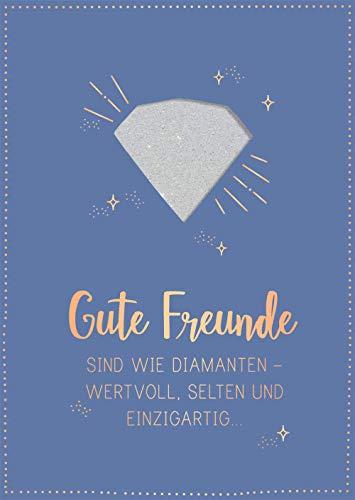 Grafik-Werkstatt Glückwunschkarte Gute Freunde 26653 |Musikkarte mit Sound | Coversong