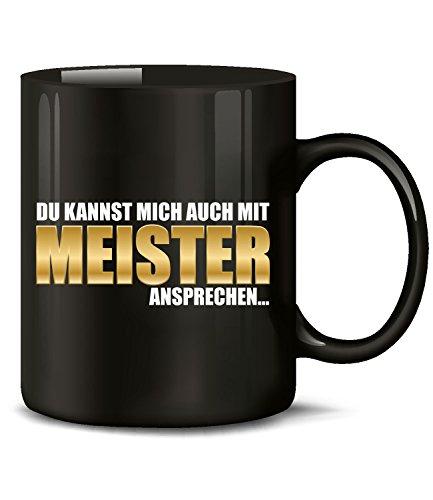 Golebros Du Kannst Mich auch mit Meister Tasse Becher Kaffee Arbeit Handwerker Prüfung Handwerks Geschenk Artikel Ausbildung