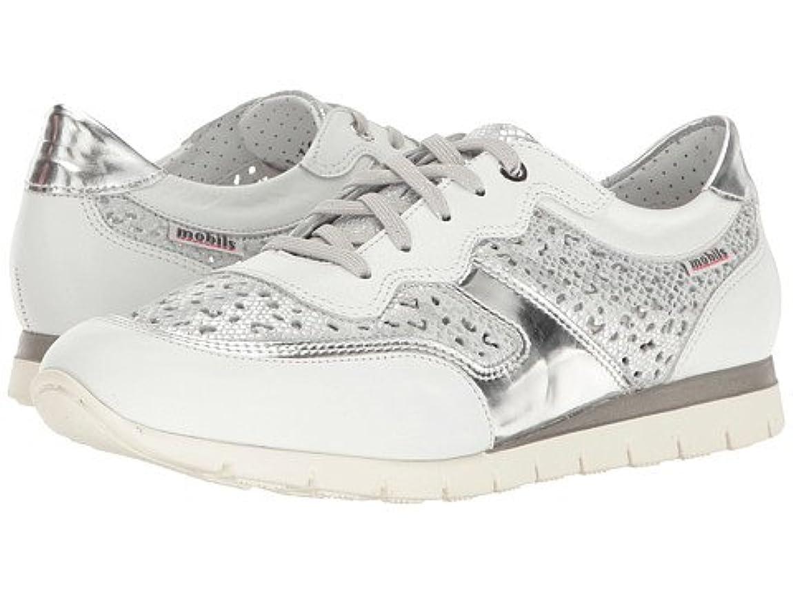 マザーランド隣人低下レディースウォーキングシューズ?カジュアルスニーカー?靴 Kadia Perf White Silk/Silver Savana/Magic US Women's 9 n/a B - Medium [並行輸入品]