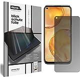 dipos I Blickschutzfolie matt kompatibel mit Huawei P40 Lite Sichtschutz-Folie Bildschirm-Schutzfolie Privacy-Filter (bewusst Kleiner als das Glas, da Dieses gewölbt ist)