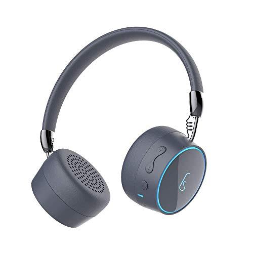 Auriculares Inalámbricos Bluetooth Retráctiles Gris