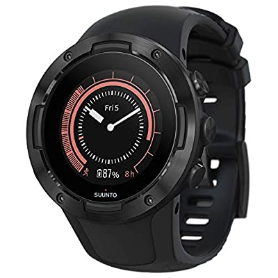 Suunto 5 Lightweight and Compact GPS Sports Watch with 24/7 Activity Tracking and Wrist-Based Heart Rate
