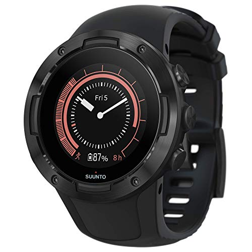 Suunto 5 Lightweight GPS Sports Watch, All Black