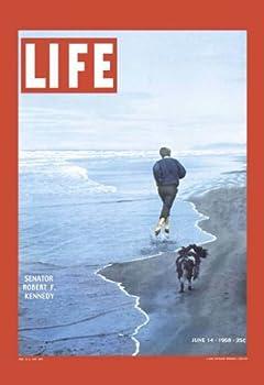 Photo of Cover Life Magazine Senator Robert F Kennedy 1968
