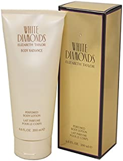 Elizabeth Taylor White Diamonds by Elizabeth Taylor for Women - 6.8 oz Body Lotion, 200 ml