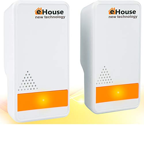 BH-3 Ultrasonic Pest Repeller - (2 Pack) Electronic Plug in Best Repellent - Pest Control - Get Rid of - Rodents Squirrels Mice Rats Insects - Roaches Spiders Fleas Bed Bugs Flies Ants Fruit Fly!