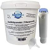 1 Liter Refill-Set, passend für alle Melitta, Nivona, Krups, Siemens, Bosch, Rowenta, Neff, Gaggenau Kaffeevollautomaten mit Schraubfilter