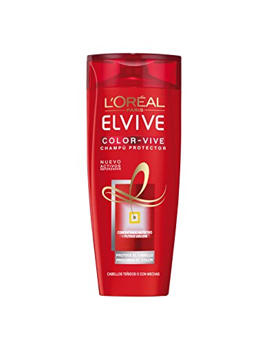 L'Oréal Paris Elvive Color-Vive Champú - 370 ml