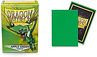 Dragon Shield Matte Apple Green Standard Size 100 ct Card Sleeves Individual Pack
