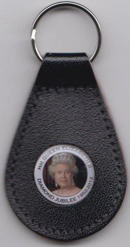 1000 Flaggen HM Queen Elizabeth II Diamantjubiläum Sammler Schlüsselanhänger – Design 1