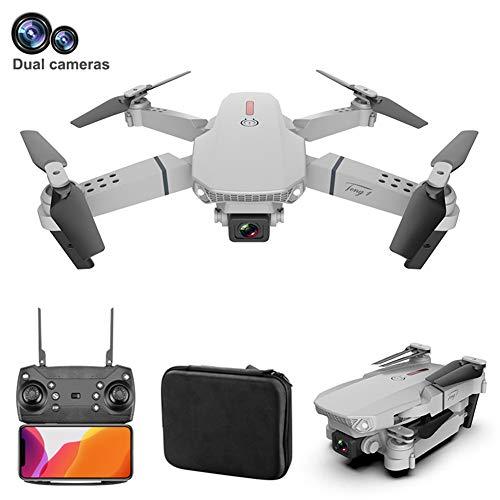LYHLYH Pliable Drone avec 4K Appareil Photo pour Les Adultes, la Photographie aérienne Avions Quatre Axes 3Dspin / Pliage à Feuilles Mobiles, 15 Minutes Temps de vol, Commutation Double Shot