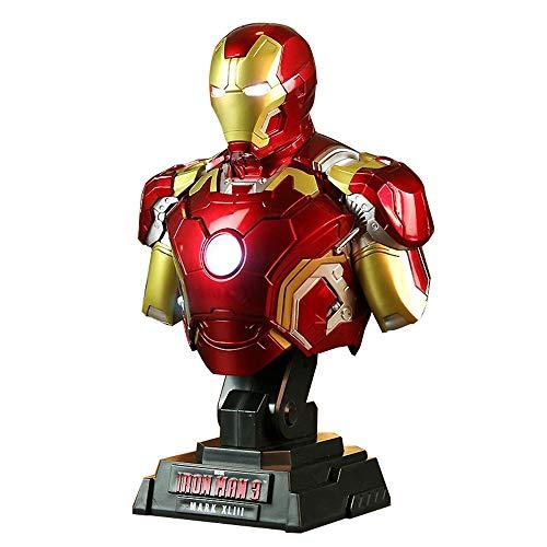 WangQ Iron Man MK43 Modelo Marvel...