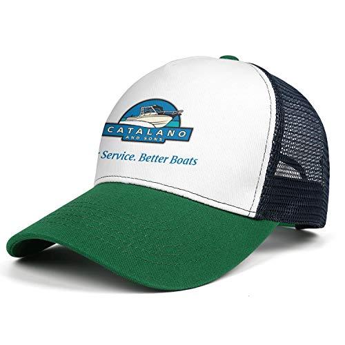 YYWCJ Mens Women Grady-White-Boats-�Catalano-&-Sons- Mesh Dad Hats Snapback Cap Adjustable Cap