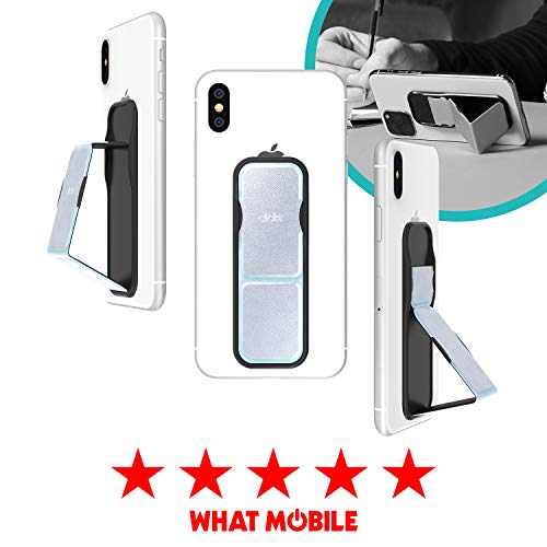CLCKR Phone Stand Multi Viewing Modes Compatible with Universal Devices Including iPhone 11/11 Pro/X/XS/XR Samsung Galaxy S8/S9/S10 and Many More - Holographic