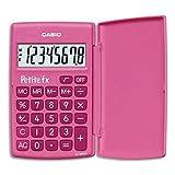 CASIO LC-401LV-PK calcolatrice tascabile - Display a 8 cifre, di colore rosa