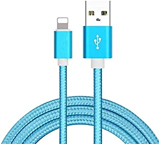 Nylon braided usb data charger cable for iPhone