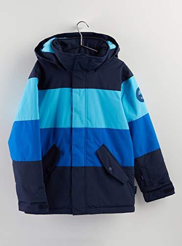 Burton Jungen Symbol Snowboard Jacke, Cyan Multi, M
