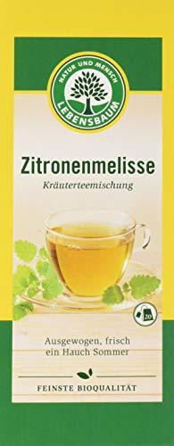 Lebensbaum Kräutertee Im Teebeutel - Zitronenmelisse, 30 g