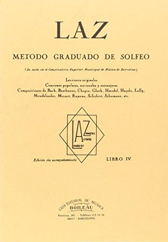 Laz - Libro IV: Método graduado de Solfeo