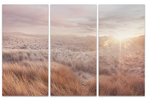El Arte Grupo de Dunas, Ian Winstanley, Lienzo impresión, Madera, Multicolor, 10x 150x 1,3cm