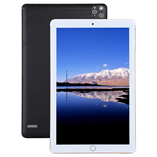 Android 4G Teléfono Teléfono Tablet PC, 10.1 Pulgadas, 2GB + 32 GB, Android 7.0 MTK6753 Octa Core 1.3GHz, Dual SIM, Soporte GPS, WiFi, OTG, Bluetooth (Color : Silver)