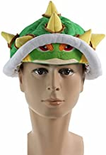 Super Mario Bros Koopa Bowser Jr. Soft Plush Hat Cosplay Costume Cap Green Adults Gifts Toy Unisex Perimeter About 65cm / 26 inch