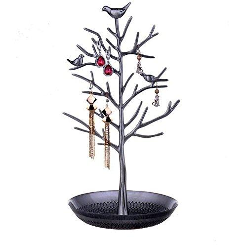 Fablcrew Presentoir Bijoux en Forme de Arbre Porte-Bijoux pour Boucles doreilles Collier Bracelet