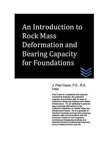 An Introduction to Rock Mass Deformation and Bearing Capacity for Foundations