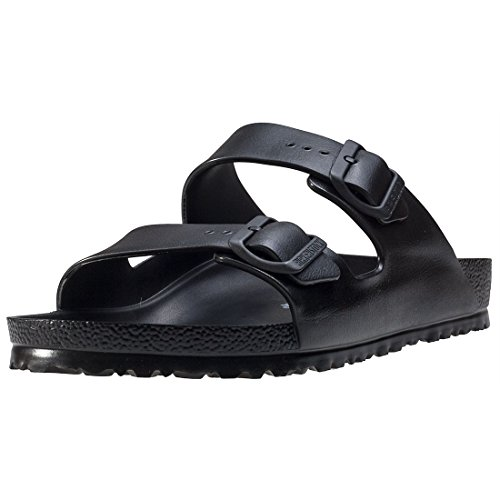 Birkenstock Women's Arizona Eva Narrow Fit Sandal Black-Black-4.5 Size 4.5