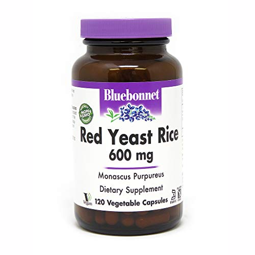 BlueBonnet Red Yeast Rice Supplement, 120 Count