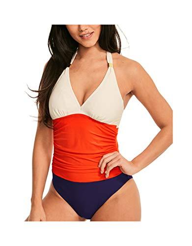 SIMPLY BE Damen Ladies Printed Wrap Dress Kleid, Mehrfarbig (Animal 001), 48 (Herstellergröße: 22)