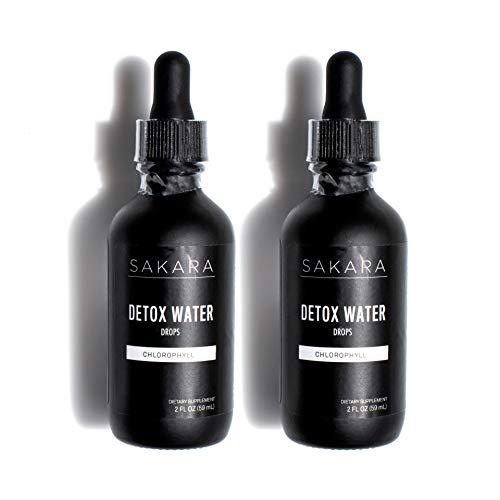 Sakara Detox Water Drops with Chlorophyll, 2 oz