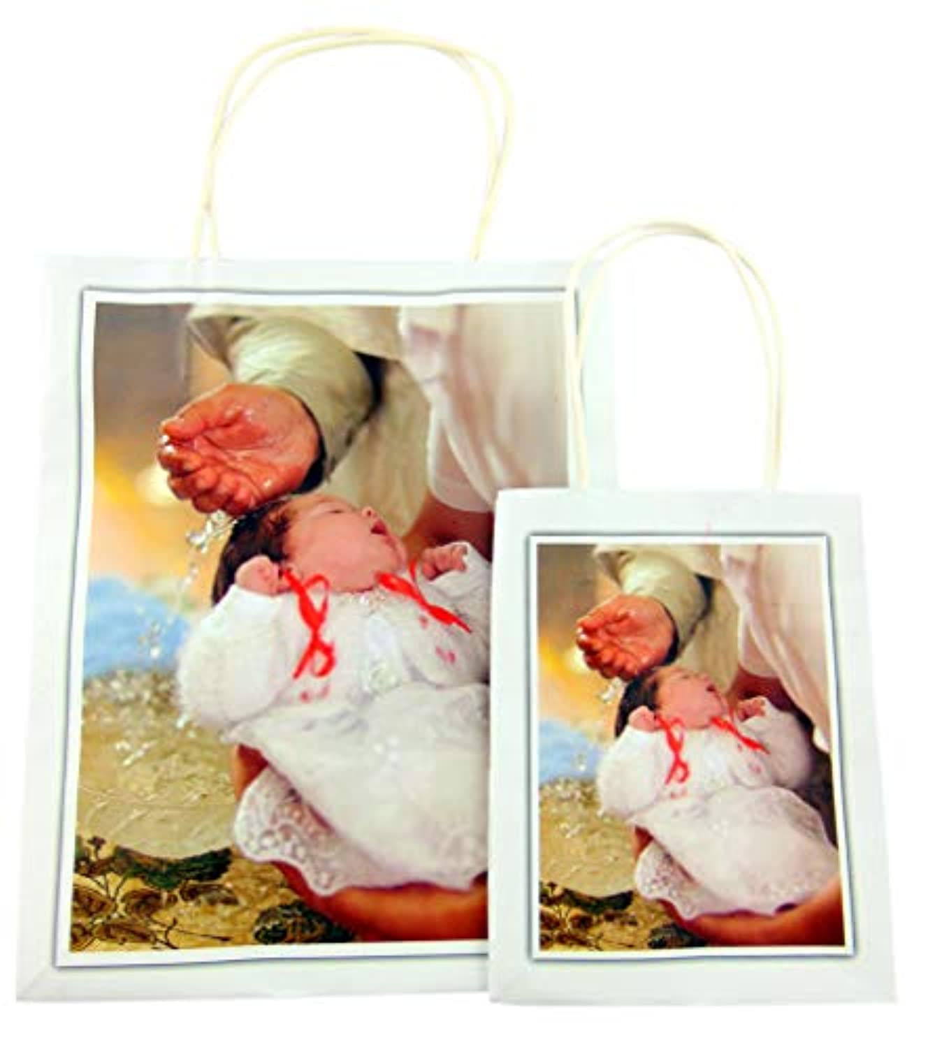 Baptism Gift Bags for Girls or Boys, Set of Two
