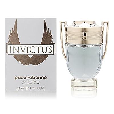 Invictus by Paco Rabanne for Men 3.4 Fl Oz Eau de Toilette