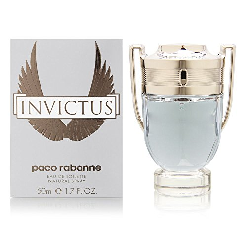 Paco Rabanne Invictus Spray for Men, 1.7 Ounce