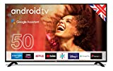 "Cello ZG0205 50"" Smart Android TV with Freeview Play, Google Assistant, Google Chromecast"