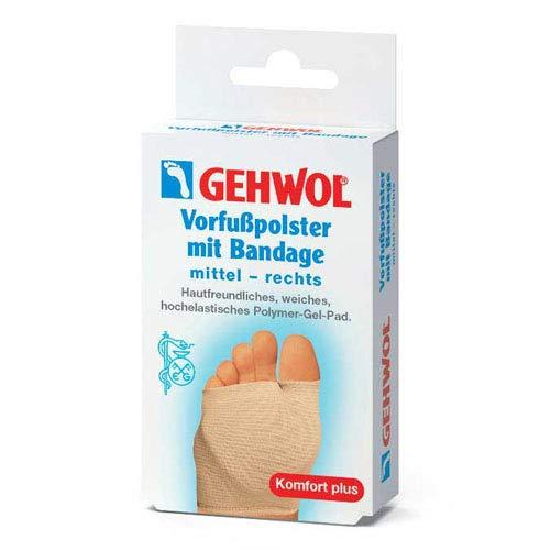 GEHWOL Vorfußpolster mit Bandage rechts mittel 1 St