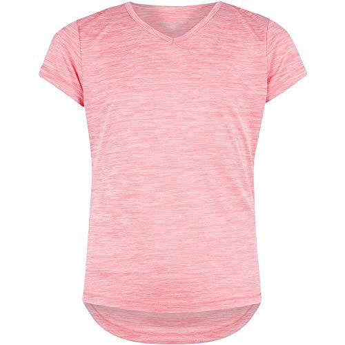 ENERGETICS Mädchen Gaminel T-Shirt, Pink/Melange, 176