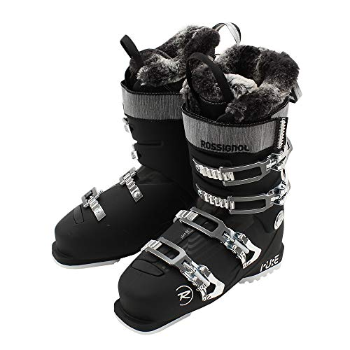 Rossignol Pure Pro 80 Damen Skischuhe, Damen, RBH2290, Weiches Schwarz, 25.5
