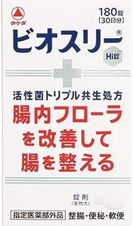 【指定医薬部外品】 武田コンシュ-マ-ヘルスケア ビオスリーHi錠 180錠 × 12個セット