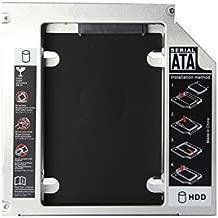 CJESLNA SATA 2nd HDD Caddy for 12.7mm Universal CD/DVD-ROM