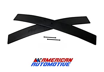 American Automotive 1.5 -2  Rear Add-A-Leaf  Short  Carbon Suspension Leveling Lift Kit Load Capacity and Tow Package Upgrade