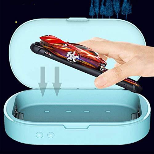 JFSKD gsm-sterilisator aromatherapie desinfectieapparaat voor telefoontoestellen, fopen, smartwatches, hoofdtelefoon, sleutels, roze