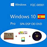 Windows 10 Pro OEM FQC-08981 Español DSP OEI OEM DVD + COA olografico Clanto pack
