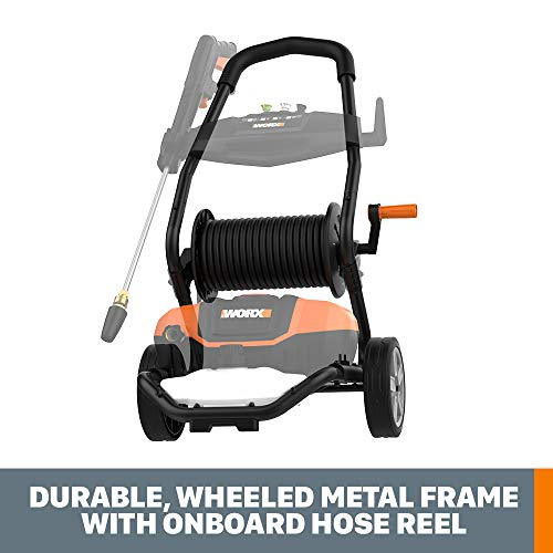 WORX WG604 13Amp, 2240 MAX psi / 1.93 MAX gpm Electric Pressure Washer with Rolling Cart