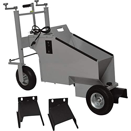 Klutch Electric Walk-Behind Concrete Curb Machine - 5.8in. Working Width, 3/4 HP